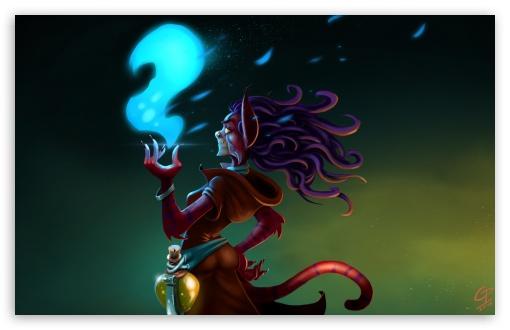 Download Mystic Cat UltraHD Wallpaper