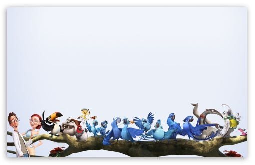 Download Rio 2 Characters UltraHD Wallpaper
