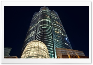 Tokyo Buildings at Night