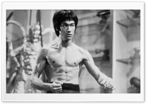 Bruce Lee Black And White