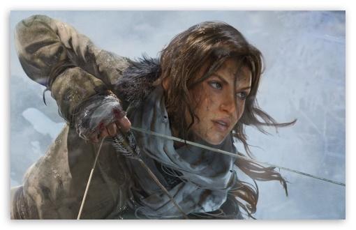 Download Rise of the Tomb Raider Lara Croft UltraHD Wallpaper