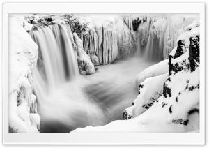 Hrafnabjargafoss Waterfall,...