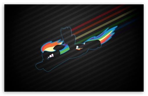 Download Rainbow Dash UltraHD Wallpaper