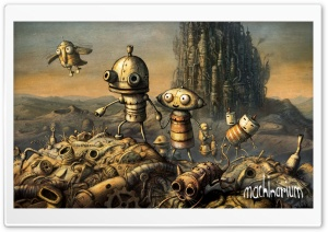 Cover, Machinarium Game