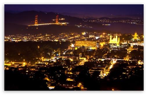 Download San Francisco from Twin Peaks UltraHD Wallpaper