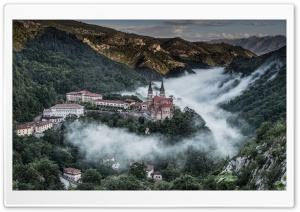 Covadonga Village Spain