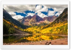Autumn, Mountain, Lake, Nature