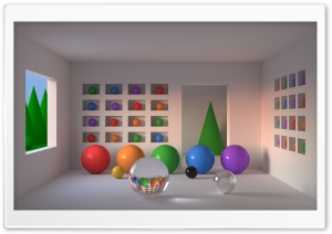 Room of Spheres