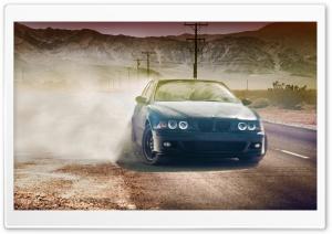 BMW 320CI In Desert