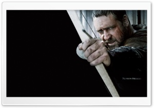 Russell Crowe as Robin Hood,...
