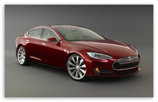Download Tesla Model S Signature, Front View UltraHD Wallpaper