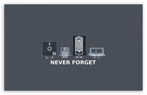 Download Never Forget UltraHD Wallpaper