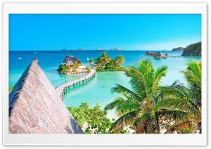 Tropical Resort Panorama