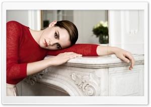 Emma Watson In Red