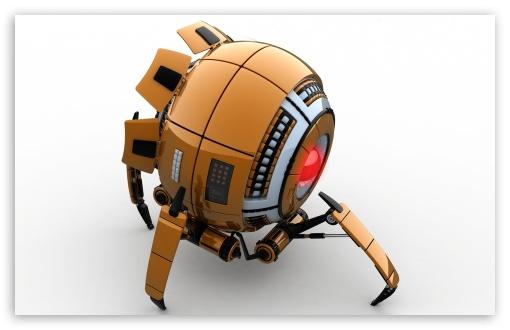 Download Spy Robot UltraHD Wallpaper