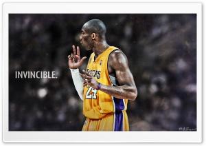 Kobe Bryant Invincible