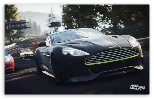 Download Need for Speed Rivals Aston Vanquish In The Lead UltraHD Wallpaper