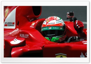 Giancarlo Fisichella Ferrari...