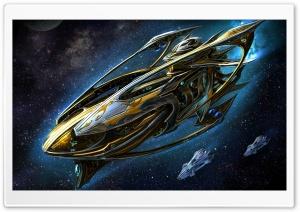 Starcraft Protoss Battleship