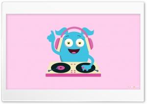 Cute Girly Monster DJ