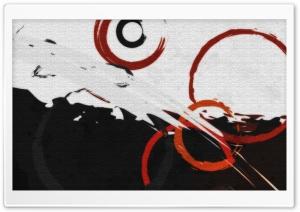 Abstract Circles Paint