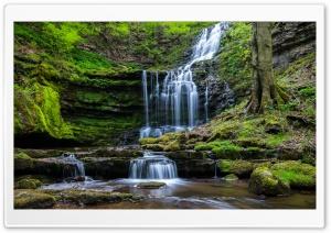 Moss Waterfall Rocks