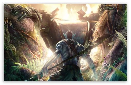 Download Avatar 3D 2009 Game Screenshot UltraHD Wallpaper
