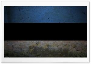 Grunge Flag Of Estonia