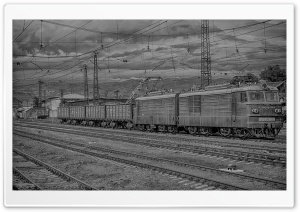 Armenia, Gyumri, Train