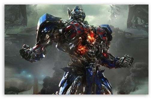 Download Transformers 4 Optimus Prime UltraHD Wallpaper