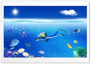 Photoshop Diver Submariner