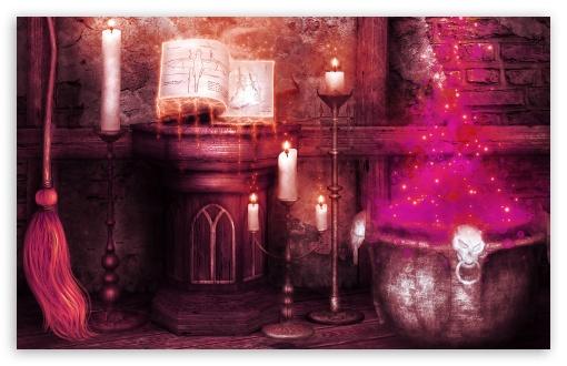Download Halloween Magic UltraHD Wallpaper