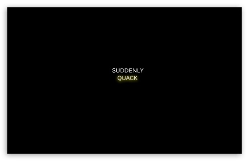 Download Quack UltraHD Wallpaper