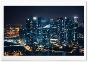 Singapore Skyscrapers Marina...