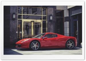 Red Ferrari Italia