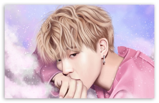 Download BTS Jimin Pastel UltraHD Wallpaper