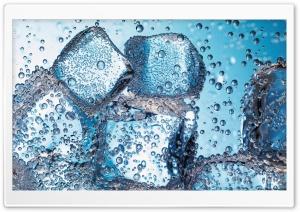 Ice Cubes - Closeup