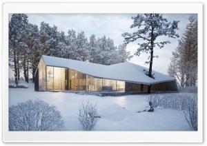Modern House Design, Winter...