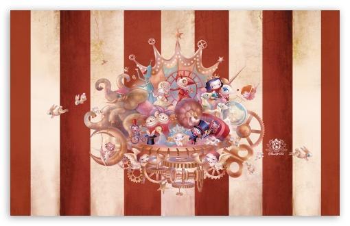 Download Circus UltraHD Wallpaper