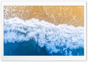 Blue Ocean Aesthetic Background