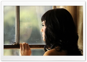Katy Perry At The Window