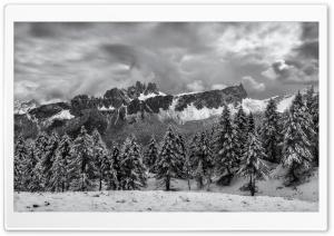 Storm Clouds, Dolomites...