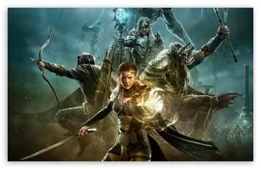 Download The Elder Scrolls Online Warriors Game Art UltraHD Wallpaper