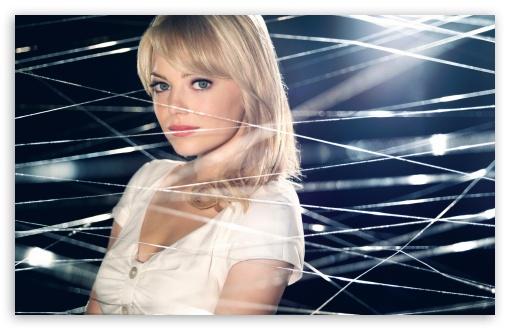 Download Emma Stone As Gwen Stacy UltraHD Wallpaper