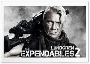 The Expendables 2 - Dolph...