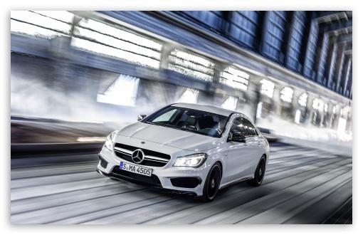 Download 2014 Mercedes Benz CLA45 AMG Speed UltraHD Wallpaper