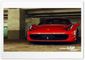 Ferrari 458 Italia 3D Max
