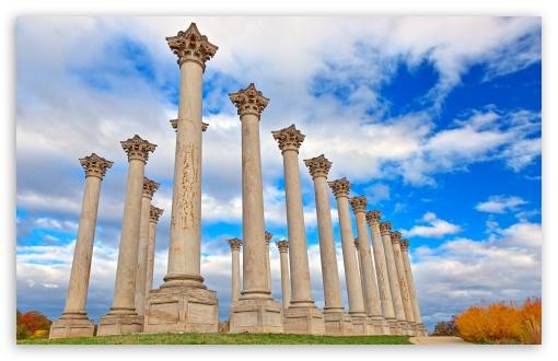 Download National Capitol Columns UltraHD Wallpaper