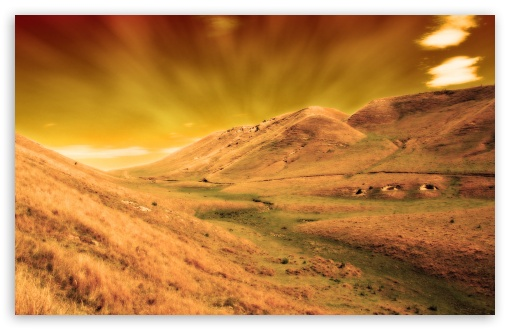 Download Valley of Space UltraHD Wallpaper