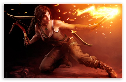 Download Lara Croft 2013 UltraHD Wallpaper